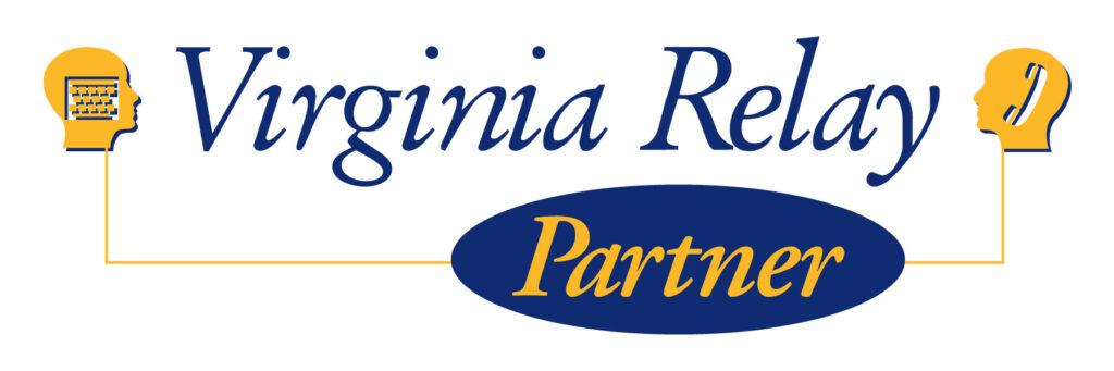Virginia Relay Partner logo.