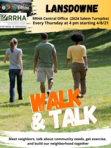 2021 Walk & Talk! @ RRHA Central Office