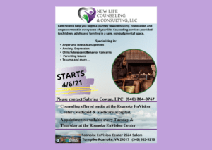 New Life Counseling & Consulting @ Roanoke EnVision Center