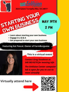 Starting your own business @ Virtual