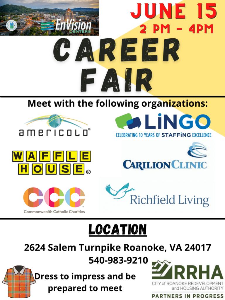Career Fair 6-15-21