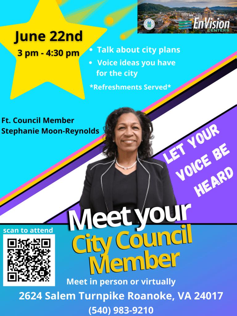 Meet Your City Council Member 6-22-21