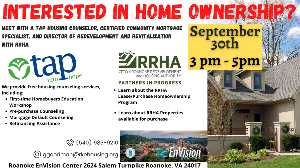Home Ownership Event 9-30-21
